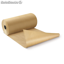 Papel kraft natural en rollos calidad 90 gr/m² 110cmx250m RAJAKRAFT Super