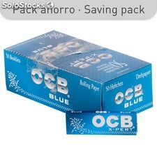 Papel ocb-xpert azul 70 mm (50)