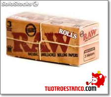 Papel Raw Rollo
