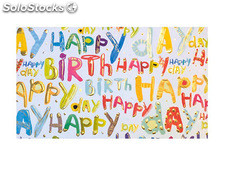 Papel regalo arguval turnowsky happy birthday