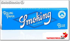 Papel Smoking azul curto