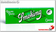 Papel Smoking curto-verde