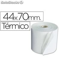Papel termico 44mmx70mts 10 unidades q-connect kf00856