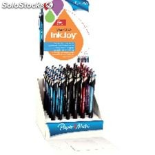 Paper mate expositor 36 unidades bolígrafos inkjoy 550 rt retractil colores