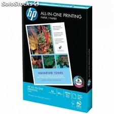 Paquete folios papel A4 80gr alta calidad HP All in One