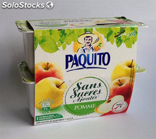 Paquito pomme ssa 4X100G