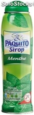 Paquito sirop ment verte 75CL