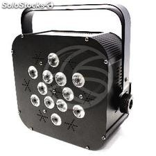 PAR56 led faretto 3W 12 nero DMX512 (XG16)