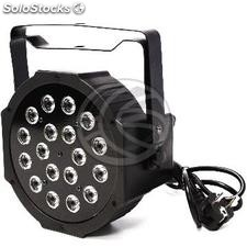 PAR56 led Spotlight 1W 18 preto DMX512 (XG15)