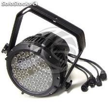 PAR64 54 led Spotlight 3W IP65 nero (XG09)