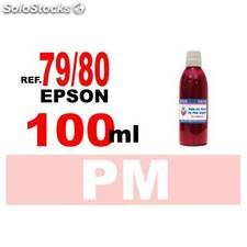 Para cartuchos Epson 79 y 80 botella 100 ml. tinta compatible