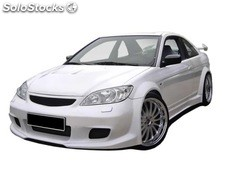 Paragolpes delantero honda civic 01 coupe lka wide - only body kit!