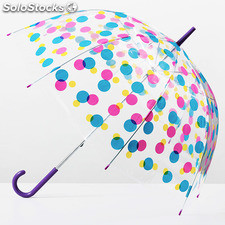 Parapluie cloche multicolore