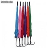 Parapluie long 6 couleurs