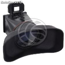 Parasol and LCD eyepiece magnifier for Canon 550D (JC44)