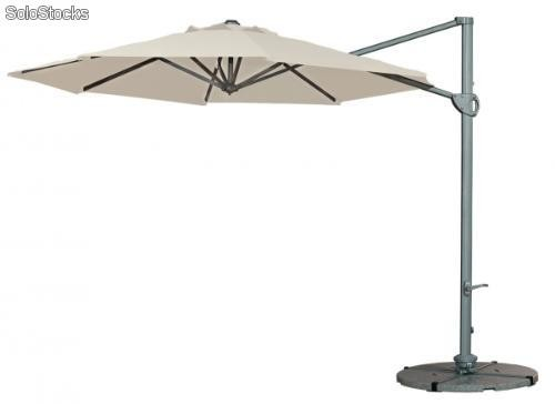 Parasol giratorio Mini Electra 300x300 natural