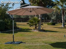 Parasol lateral profer green 3 m