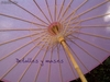 Parasol / sombrilla de papel. Color Rosa