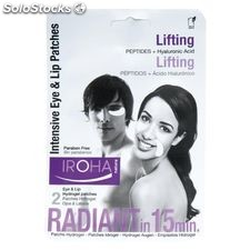 Parches Ojos y Labios Lifting Intensivo Iroha Nature