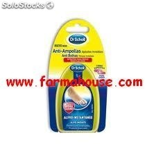Parches Scholl anti-ampollas hydragel invisibles dedos, 6 ud