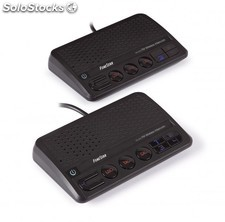 Pareja de Intercomunicadores Fonestar inalambricos por cable de 220V,