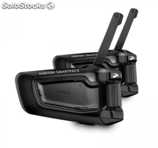 Pareja intercom moto Cardo Scala Rider SmartPack Duo