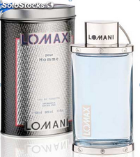 Parfüm Made in France / Euro 1 // Lomani Lomax EDT Perfume For Men 100ml