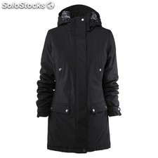 Parka de mujer con forro acolchado printer slope lady