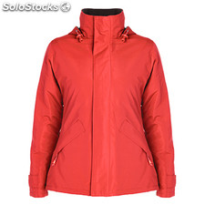 Parka Femme rouge casual collection invierno