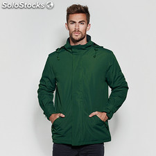 Parka Homme europa vert bouteille t: l. School collection