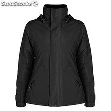 Parka Mujer m negro casual collection invierno