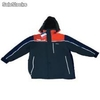 Parka vectortex navy/orange mangas