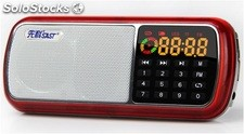 parlante portatil bocina MP3 USB TF FM radio bateria recargable Q39