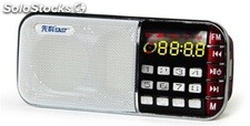 parlante portatil bocina MP3 USB TF FM radio bateria recargable Q72
