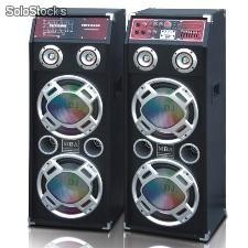 Parlante Tipo Concert 2x8 100w rms Importado Profesional, subwoofer