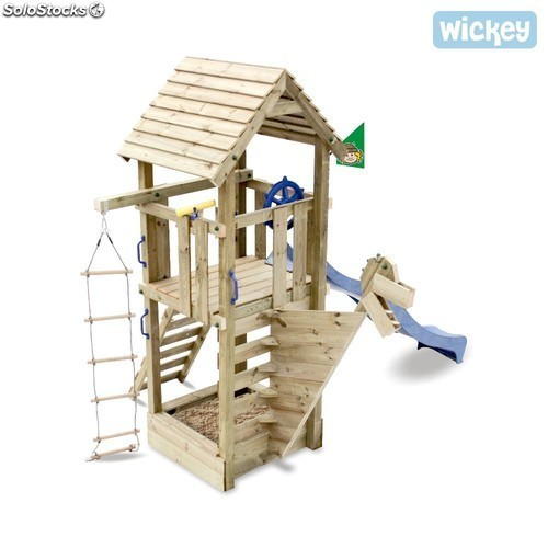 Parque infantil Wickey Captain Blue con tobogán