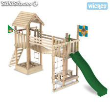 Parque infantil Wickey Fantasy Tree Torre con Tobogan