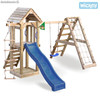 Parque infantil Wickey Little Pirate Torre Tobogan Columpio Red para trepar
