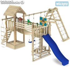 Parque infantil Wickey Lost Jungle Columpio Tobogan