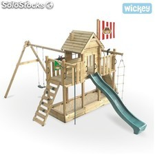Parque infantil Wickey Robin's Tree-house Columpio Tobogan