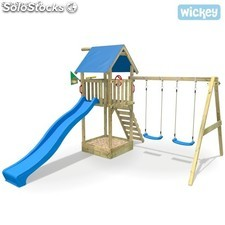 Parque infantil Wickey Smart Empire Columpio Tobogan