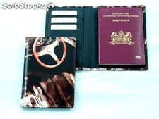 Passport Case With Digital Leather Print. Your Own