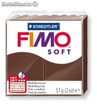 Pasta moldear chocolate fimo soft staedtler 8020-75