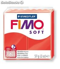Pasta moldear rojo indian fimo soft staedtler 8020-24