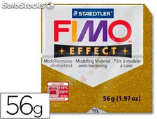 Pasta staedtler fimo effect 56 gr oro purpurina