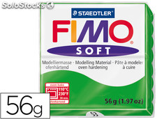 Pasta staedtler fimo soft 56 gr color verde tropical