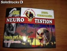 Pastilla neuro testion, Afrodisiaco Natural Sexo viril en 30 min
