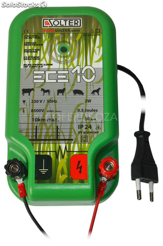 Pastor electrico ECE100 230V solter 5,5 joules
