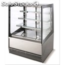 Pastry display-mod. metro's t-breezy-tempered glasses straight-air cooled