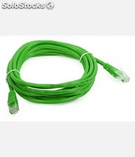 Patch Cord UTP Cat6 de 3m - Cor Verde